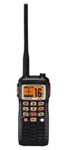 """Standard Horizon HX851, The Standard Horizon HX851 is a 6 Watt floating handheld VHF radio that features LCD display with channel names and includes a 12-channel GPS receiver allowing the radio to transmit a DSC distress, position report or send calls with your coordinates"