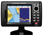 """Standard Horizon CPF190i Brand New Includes Three Year Warranty, The Standard Horizon CPF190i is a 5"""" Internal GPS multifunction fishfinder/chartplotter with built-in C-Map Cartography"