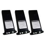 Standard Horizon FNB-121LI (3 Pack) Lithium Ion Battery Pack
