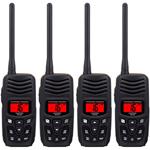Standard Horizon HX150 (4 Pack) Handheld VHF Radio