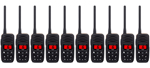 Standard Horizon HX150 (10 Pack) Handheld VHF Radio