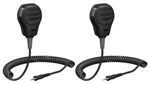 Standard Horizon MH-73A4B (2 Pack) Submersible Speaker Mic for HX750 H